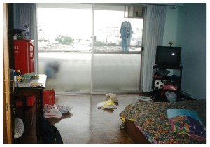 バンコクで当時住んでたアパート
