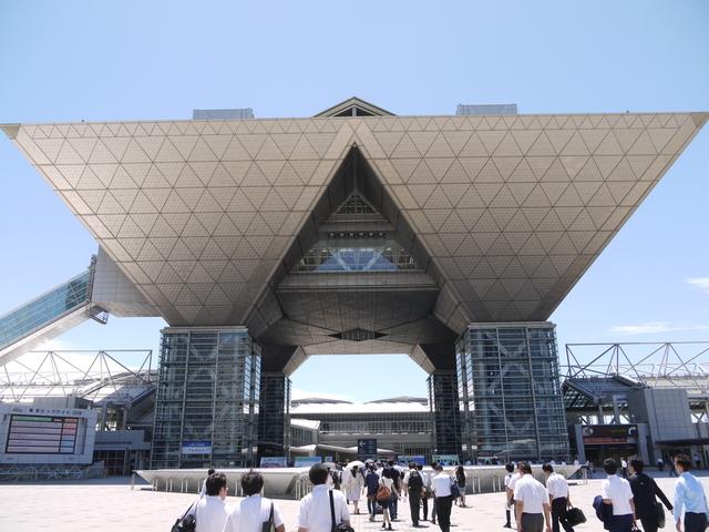 コミケの聖地、東京ビックサイト