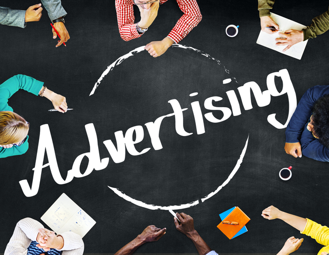 Advertising Commercial Merketing Business Plan Concept
